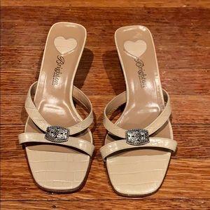 Brighton slip on sandals